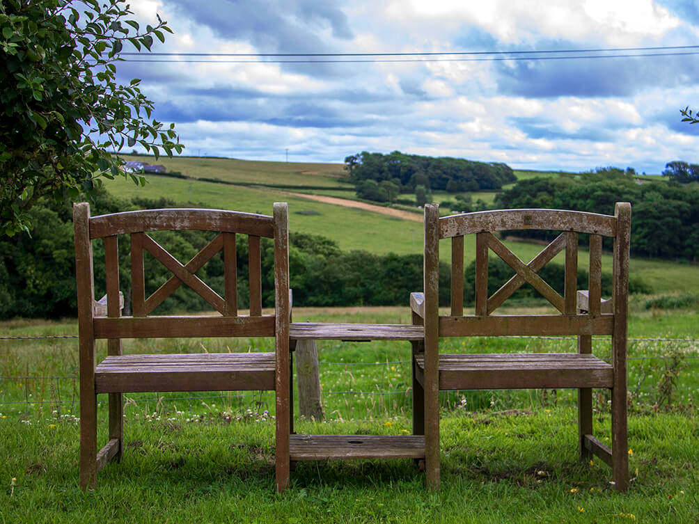 Natural Health Retreat - Benches